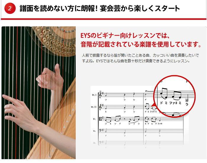 ハープ楽譜